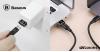 Baseus USB/Type-C átalakító adapter - Fekete