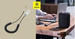 Baseus BA01 USB vezeték nélküli adapter/3,5mm jack - Fekete