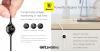 Baseus Big Eye Lightning töltőkábel, töltéskijelzővel és öntapadó mágneses rögzítéssel,2A,1m - Fehér