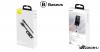 Baseus mágneses adat/töltőkábel, töltőfej szettel 5A 1m Zinc - Szürke/Fekete