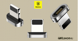 Baseus Lighting mágneses adapter Zinc töltőkábelhez