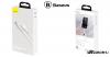 Baseus USB-C adat/ töltőkábel mágneses csatlakozóval 5A, 1m Zinc - Fehér