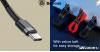 Baseus  USB-C/C-típusú PD 2.0 60W töltő kábel - Fekete/Szürke