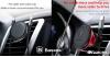 Baseus mágneses autós telefontartó szellőzőrácsra Air Vent - Piros