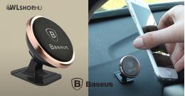 Baseus mágneses autós telefontartó műszerfalra - Rose Gold