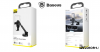 Baseus Simplism gavitációs telefontartó műszerfalra-szélvédőre - Fekete