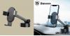Baseus Tank gavitációs telefontartó műszerfalra-szélvédőre - Ezüst