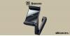 Baseus Energy fejtámlára rögzíthető telefontartó és vezeték nélküli Qi 15W gyorstöltő - Fekete