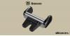 Baseus Steel Cannon telefontartó szellőzőrácsra - Fekete