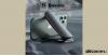 Baseus Big Mouth Pro univerzális csiptetős telefontartó műszerfalra - Ezüst