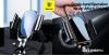 Baseus gravitációs autós telefontartó kerek szellőzőrácshoz Future - Fekete