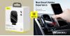 Baseus Light automata telefontartó és töltő szellőzőre/műszerfalra - Fekete