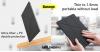Baseus Jane Y iPad 10.2 2019 tablet tok - Fekete