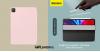 Baseus Simplism mágneses bőr tok iPad Pro 11 (2020) - Rózsaszín