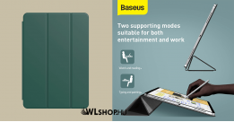 Baseus Simplism mágneses bőr tok iPad Pro 11 (2020) - Zöld