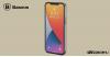 Baseus iPhone 12/12 Pro tok Comfort - Fekete