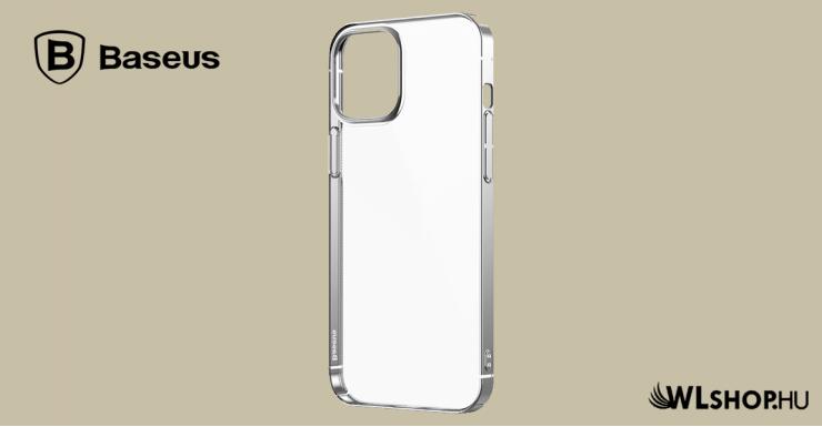 Baseus iPhone 12/12 Pro tok Glitter - Ezüst