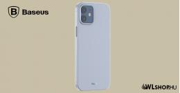 Baseus iPhone 12 Mini rugalmas tok Wing - Fehér