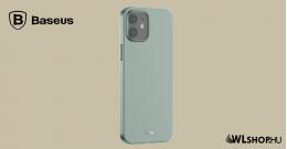 Baseus iPhone 12 Mini rugalmas tok Wing - Zöld