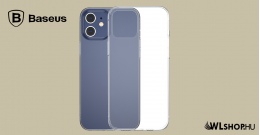 Baseus iPhone 12 Mini szilikon tok Simple - Átlátszó