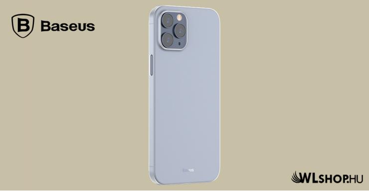 Baseus iPhone 12 Pro Max rugalmas tok Wing - Fehér