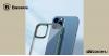 Baseus iPhone 12 Pro rugalmas gél tok, fényes fémes kerettel Shining - Zöld