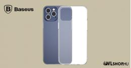 Baseus iPhone 12 Pro szilikon tok Simple - Átlátszó