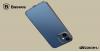 Baseus iPhone 12 rugalmas gél tok, fényes fémes kerettel Shining - Fekete