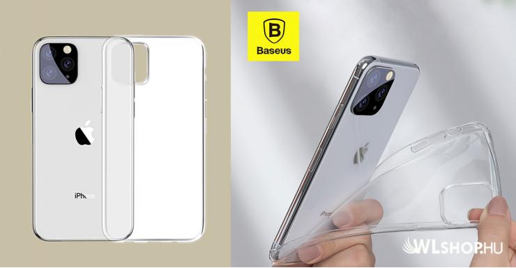 Baseus Simplicity iPhone11 Pro 5.8 TPU tok - Átlátszó