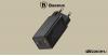 Baseus GaN2 hálózati gyorstöltő 45W + 1m Type-C (USB-C) kábel 60W - Fekete