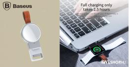 Baseus iWatch vezeték nélküli töltő 2,5W Dotter - Fehér