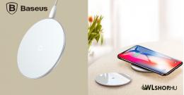 Baseus  Simple  vezeték nélküli Wireless gyorstöltő - Fehér