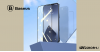 Baseus iPhone 12 Mini teljes felületre edzett üveg 0,25mm (2db/cs.) - Fekete