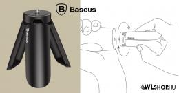 Baseus mini állvány stabilizátor telefonhoz, kamerához, Gimbalhoz