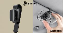 Baseus Platinum univerzális szemüvegtartó klipsz - Fekete