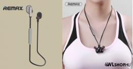 Remax RB-S18 Sports Bluetooth vezeték nélküli sztereo headset - Fekete