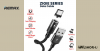 iPhone töltőkábel kerek mágneses csatlakozóval 1,2m 3A Zigie Remax