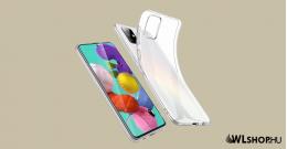 Samsung Galaxy A41 ultra slim szilikon védőtok