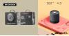 Bluetooth 5.0 vezeték nélküli asztali hangszóró WK D6 Mini - Fekete