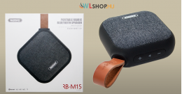 Bluetooth hangszóró RB-M15 Remax - Fekete