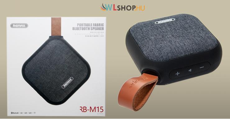 Remax RM-M15 Bluetooth hangszóró - Fekete