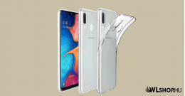 Samsung Galaxy A20E Ultra Slim szilikon tok
