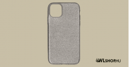 iPhone 11 Pro szilikon védőtok - Ezüst