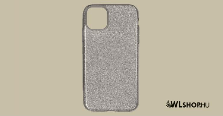 iPhone 11 szilikon védőtok - Ezüst