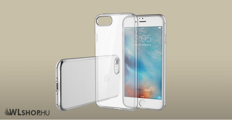 iPhone 7 plus - 8 plus ultra slim védőtok - Átlátszó