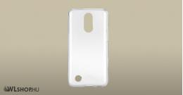 LG K10/2017 Ultra vékony átlátszó szilikon tok