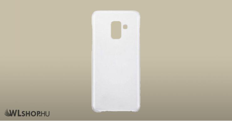 Samsung Galaxy A5/A8 2018 ultra slim szilikon védőtok
