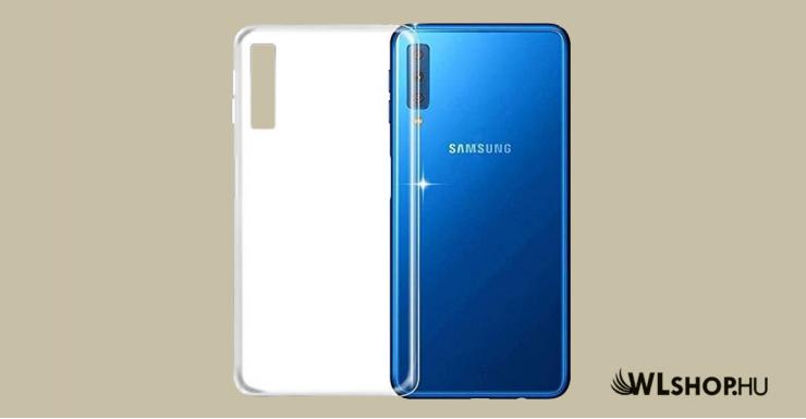 Samsung Galaxy A70/A70s ultra slim szilikon védőtok