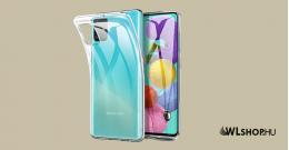 Samsung Galaxy A71 ultra slim szilikon védőtok