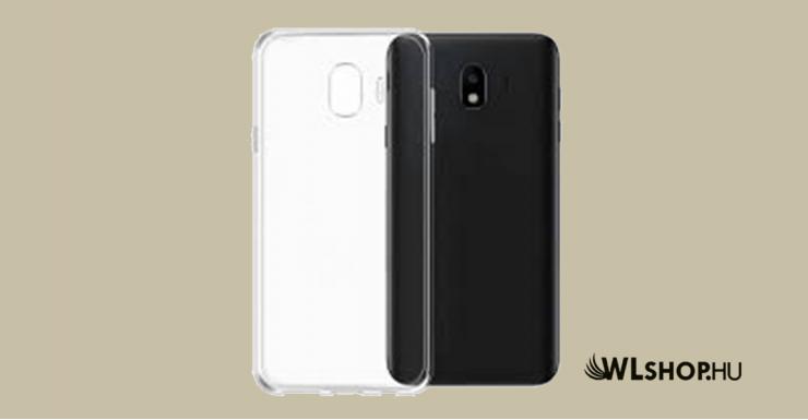 Samsung Galaxy J4 2018 Ultra vékony átlátszó szilikon tok